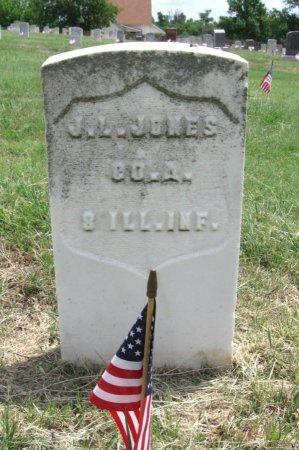 JONES, JAMES L (VETERAN UNION) - Ford County, Kansas   JAMES L (VETERAN UNION) JONES - Kansas Gravestone Photos