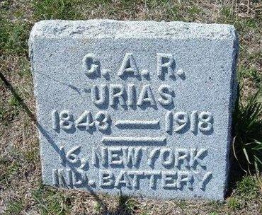 KROM, URIAS   (VETERAN UNION) - Ford County, Kansas | URIAS   (VETERAN UNION) KROM - Kansas Gravestone Photos