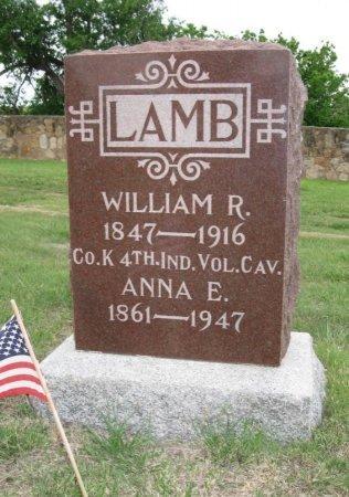 LAMB, ANNA E - Ford County, Kansas | ANNA E LAMB - Kansas Gravestone Photos