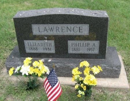 WALDY LAWRENCE, ELIZABETH - Ford County, Kansas | ELIZABETH WALDY LAWRENCE - Kansas Gravestone Photos