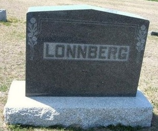 LONNBERG, FAMILY STONE - Ford County, Kansas | FAMILY STONE LONNBERG - Kansas Gravestone Photos
