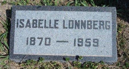 LONNBERG, ISABELLE - Ford County, Kansas   ISABELLE LONNBERG - Kansas Gravestone Photos
