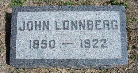 LONNBERG, JOHN - Ford County, Kansas | JOHN LONNBERG - Kansas Gravestone Photos