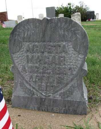 MAGAR, AGUSTA - Ford County, Kansas | AGUSTA MAGAR - Kansas Gravestone Photos
