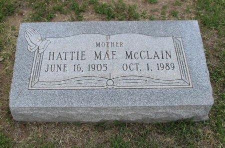 MCCLAIN, HATTIE MAE - Ford County, Kansas | HATTIE MAE MCCLAIN - Kansas Gravestone Photos