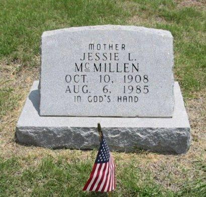MCMILLEN, JESSIE L - Ford County, Kansas   JESSIE L MCMILLEN - Kansas Gravestone Photos