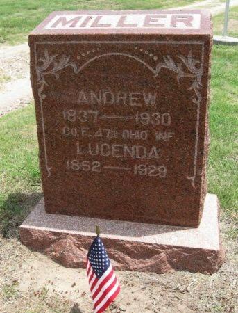 MILLER, LUCENDA - Ford County, Kansas   LUCENDA MILLER - Kansas Gravestone Photos