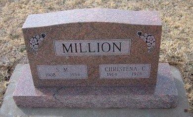 MILLION, SIMPKIN MURRELL - Ford County, Kansas | SIMPKIN MURRELL MILLION - Kansas Gravestone Photos