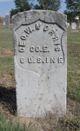 MORRIS, GEORGE W (VETERAN UNION) - Ford County, Kansas | GEORGE W (VETERAN UNION) MORRIS - Kansas Gravestone Photos