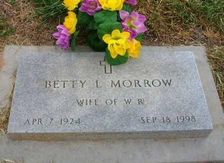 MORROW, BETTY L - Ford County, Kansas | BETTY L MORROW - Kansas Gravestone Photos