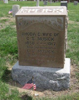 EYTCHISON MUSICK, RHODA ETHEL   - Ford County, Kansas   RHODA ETHEL   EYTCHISON MUSICK - Kansas Gravestone Photos
