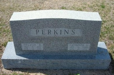 IMEL PERKINS, CATHERINE L - Ford County, Kansas | CATHERINE L IMEL PERKINS - Kansas Gravestone Photos