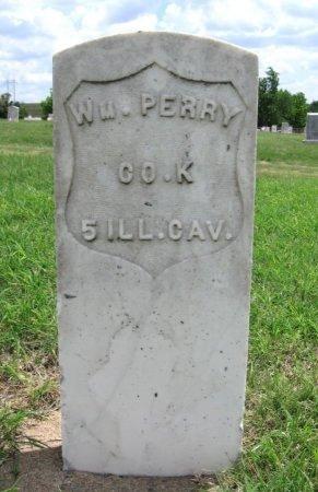PERRY, WILLIAM (VETERAN UNION) - Ford County, Kansas | WILLIAM (VETERAN UNION) PERRY - Kansas Gravestone Photos