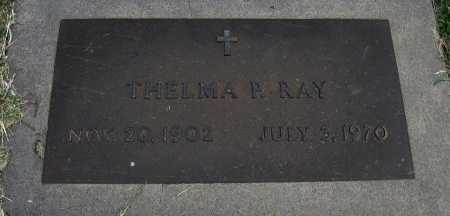 RAY, THELMA P - Ford County, Kansas | THELMA P RAY - Kansas Gravestone Photos