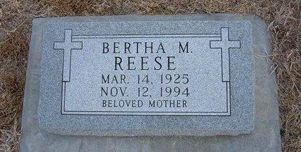 REESE, BERTHA M - Ford County, Kansas | BERTHA M REESE - Kansas Gravestone Photos