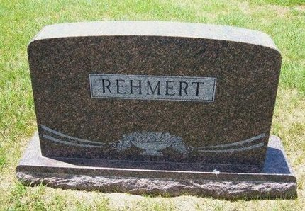 REHMERT, FAMILY STONE - Ford County, Kansas | FAMILY STONE REHMERT - Kansas Gravestone Photos