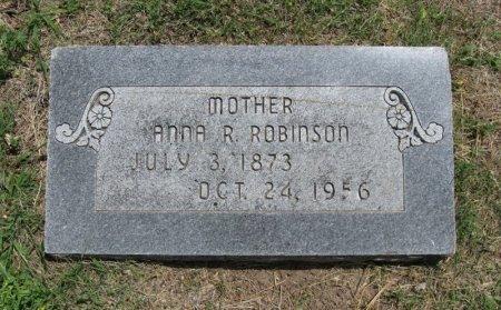 ROBINSON, ANNA R - Ford County, Kansas   ANNA R ROBINSON - Kansas Gravestone Photos