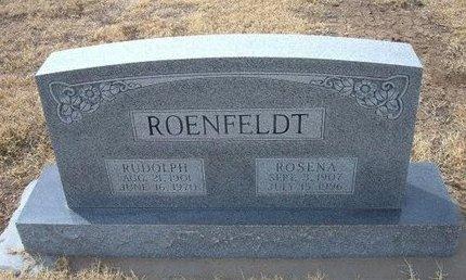 ROENFELDT, RUDOLPH - Ford County, Kansas | RUDOLPH ROENFELDT - Kansas Gravestone Photos