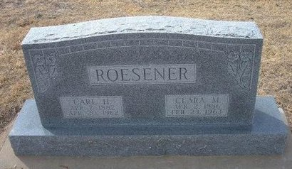 ROESENER, CARL H - Ford County, Kansas | CARL H ROESENER - Kansas Gravestone Photos