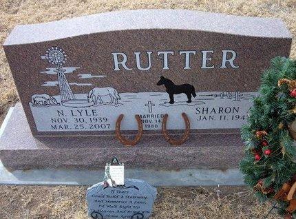RUTTER, N LYLE - Ford County, Kansas | N LYLE RUTTER - Kansas Gravestone Photos