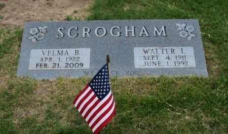 SCROGHAM, VELMA B   - Ford County, Kansas   VELMA B   SCROGHAM - Kansas Gravestone Photos