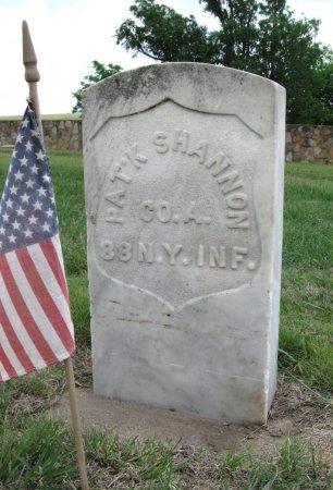 SHANNON, PATRICK (VETERAN UNION) - Ford County, Kansas | PATRICK (VETERAN UNION) SHANNON - Kansas Gravestone Photos