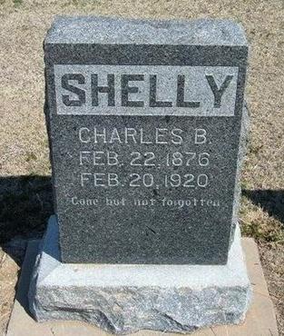 SHELLY, CHARLES B - Ford County, Kansas   CHARLES B SHELLY - Kansas Gravestone Photos