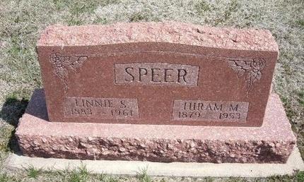 SPEER, LINNIE S - Ford County, Kansas   LINNIE S SPEER - Kansas Gravestone Photos