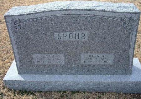 SPOHR, META - Ford County, Kansas | META SPOHR - Kansas Gravestone Photos