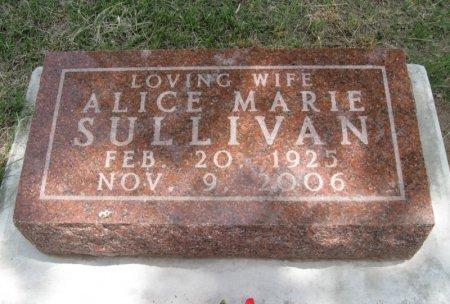 SULLIVAN, ALICE MARIE - Ford County, Kansas | ALICE MARIE SULLIVAN - Kansas Gravestone Photos