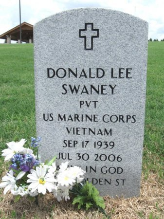 SWANEY, DONALD LEE (VETERAN VIET) - Ford County, Kansas | DONALD LEE (VETERAN VIET) SWANEY - Kansas Gravestone Photos