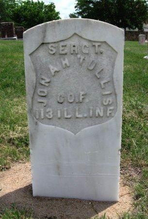 TULLIS, JONAH (VETERAN UNION) - Ford County, Kansas | JONAH (VETERAN UNION) TULLIS - Kansas Gravestone Photos