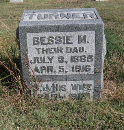 TURNER, BESSIE M - Ford County, Kansas   BESSIE M TURNER - Kansas Gravestone Photos