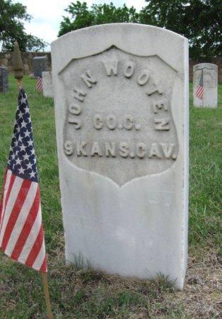 WOOTON, JOHN (VETERAN UNION) - Ford County, Kansas | JOHN (VETERAN UNION) WOOTON - Kansas Gravestone Photos