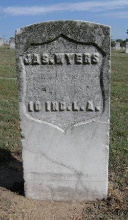 WYERS, JAMES (VETERAN UNION) - Ford County, Kansas   JAMES (VETERAN UNION) WYERS - Kansas Gravestone Photos