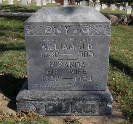 YOUNG, MIRANDA - Ford County, Kansas   MIRANDA YOUNG - Kansas Gravestone Photos
