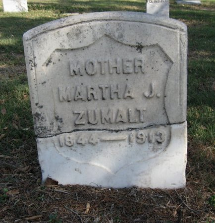 "TOMLINSON ZUMALT, MARTHA J ""MATTIE""  - Ford County, Kansas   MARTHA J ""MATTIE""  TOMLINSON ZUMALT - Kansas Gravestone Photos"