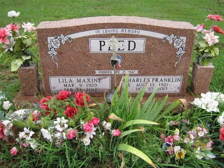 THOMPSON PEED, LILA MAXINE - Franklin County, Kansas | LILA MAXINE THOMPSON PEED - Kansas Gravestone Photos