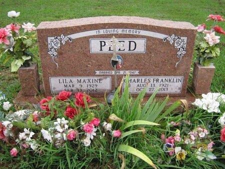 "PEED, CHARLES FRANKLIN ""CHUCK"" - Franklin County, Kansas | CHARLES FRANKLIN ""CHUCK"" PEED - Kansas Gravestone Photos"