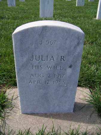 ANDERSON, JULIA R - Geary County, Kansas | JULIA R ANDERSON - Kansas Gravestone Photos