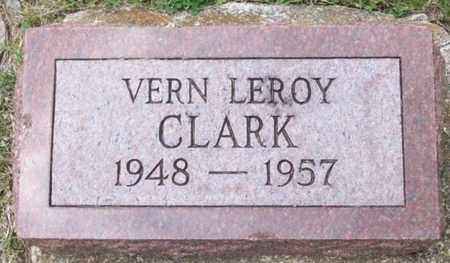 CLARK, VERN LEROY - Geary County, Kansas | VERN LEROY CLARK - Kansas Gravestone Photos