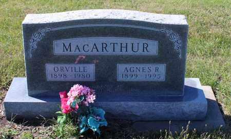 MCDIFFETT MACARTHUR, AGNES R - Geary County, Kansas | AGNES R MCDIFFETT MACARTHUR - Kansas Gravestone Photos