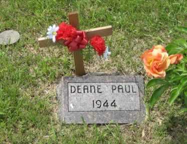 MACARTHUR, DEANE  PAUL - Geary County, Kansas | DEANE  PAUL MACARTHUR - Kansas Gravestone Photos