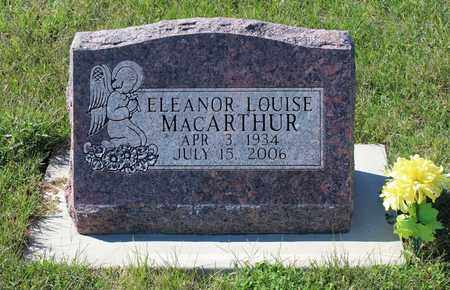 MACARTHUR, ELEANOR LOUISE - Geary County, Kansas | ELEANOR LOUISE MACARTHUR - Kansas Gravestone Photos