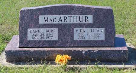 ANDERSON MACARTHUR, VIDA LILLIAN - Geary County, Kansas | VIDA LILLIAN ANDERSON MACARTHUR - Kansas Gravestone Photos
