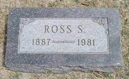 BENTLEY, ROSS SPENCER - Gove County, Kansas | ROSS SPENCER BENTLEY - Kansas Gravestone Photos