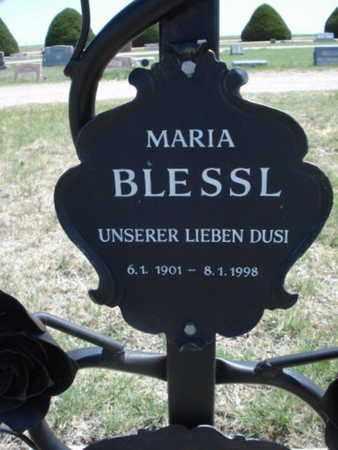 BLESSL, MARIA - Gove County, Kansas | MARIA BLESSL - Kansas Gravestone Photos