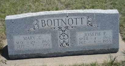 BOITNOTT, MARY CATHERINE - Gove County, Kansas | MARY CATHERINE BOITNOTT - Kansas Gravestone Photos