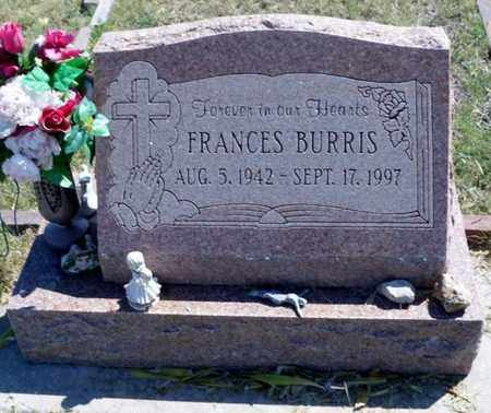 BURRIS, FRANCES - Gove County, Kansas   FRANCES BURRIS - Kansas Gravestone Photos