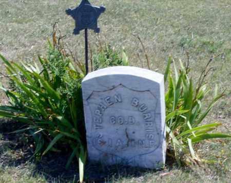 BURRIS, STEPHEN  (VETERAN UNION) - Gove County, Kansas | STEPHEN  (VETERAN UNION) BURRIS - Kansas Gravestone Photos